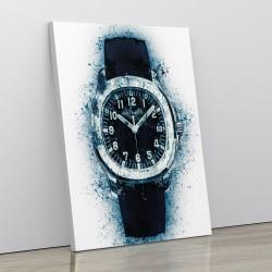 Patek Aquanaut Blue Abstract Art Print