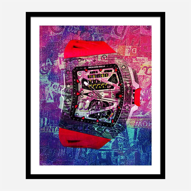 RM 70 Abstract Art Print
