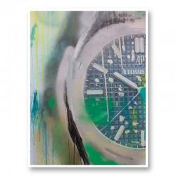 AP Green Abstract Art Print