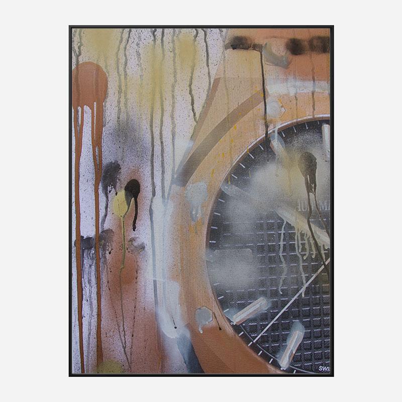 AP Gold Abstract Art Print