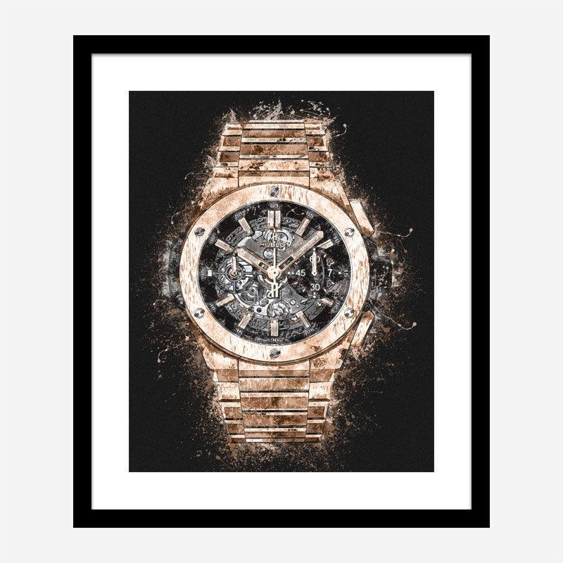 Big Bang Integral King Abstract Art Print