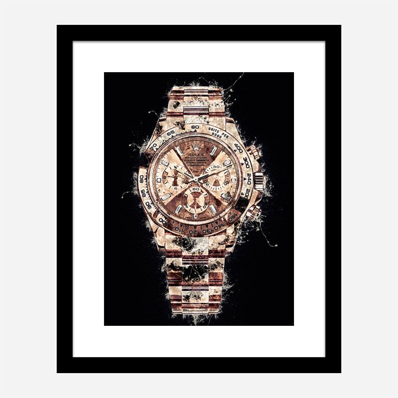 Daytona Everose Abstract Art Print