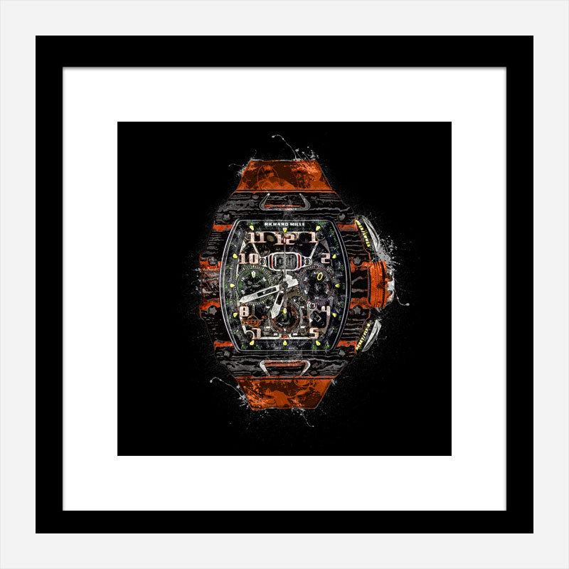 RM 11 Watch Grunge Wall Art Print