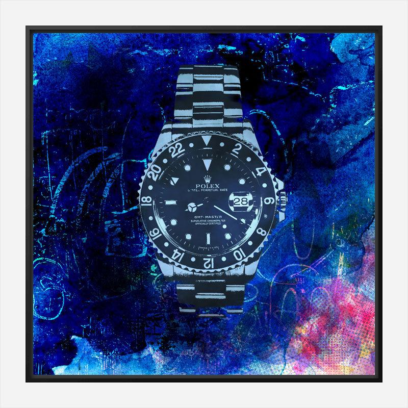 GMT Master Abstract Wall Art Print