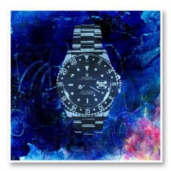 GMT Master Abstract Wall Art Print