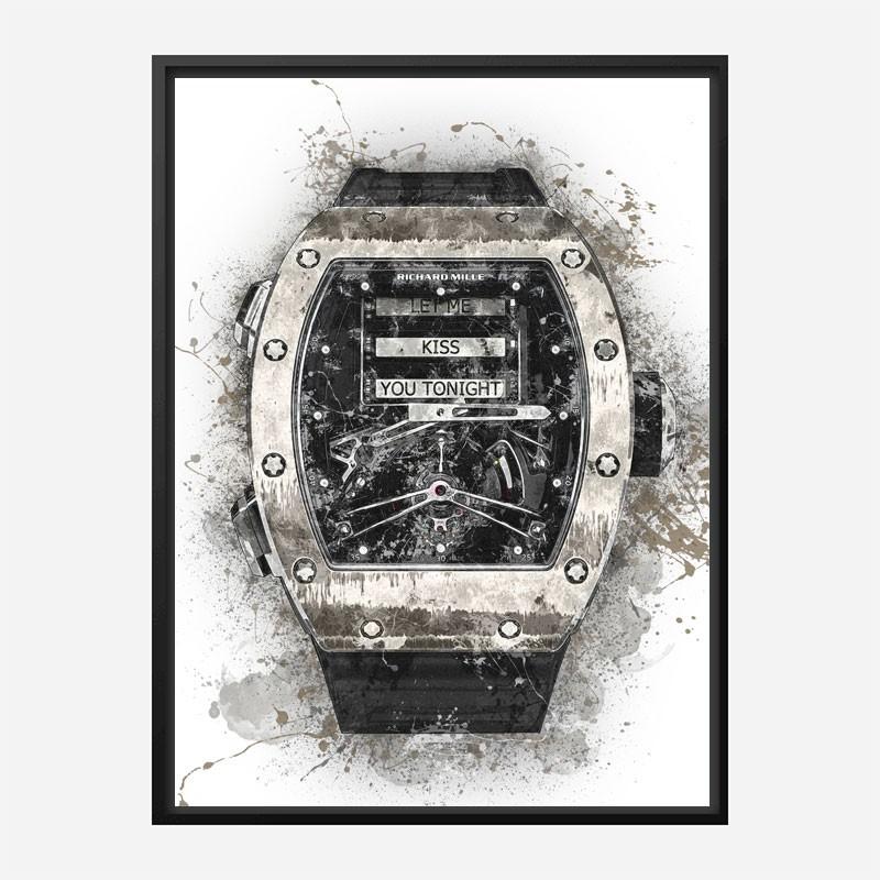 RM 69 Grunge Abstract Art Print