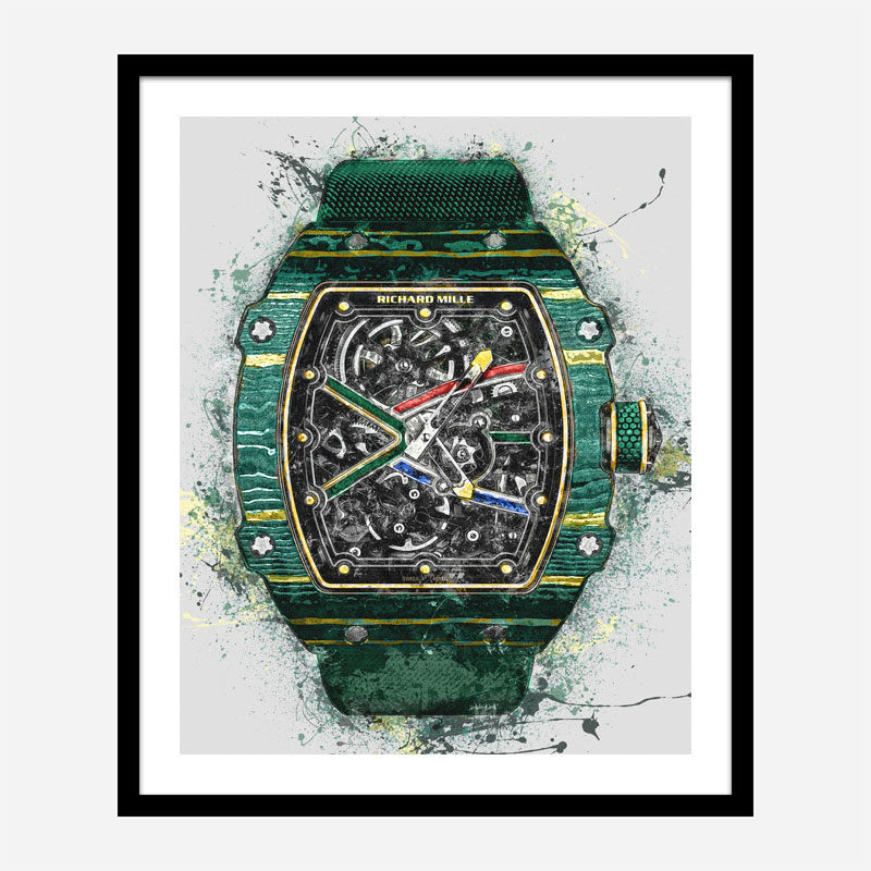 RM 67-02 Watch Abstract Art Print