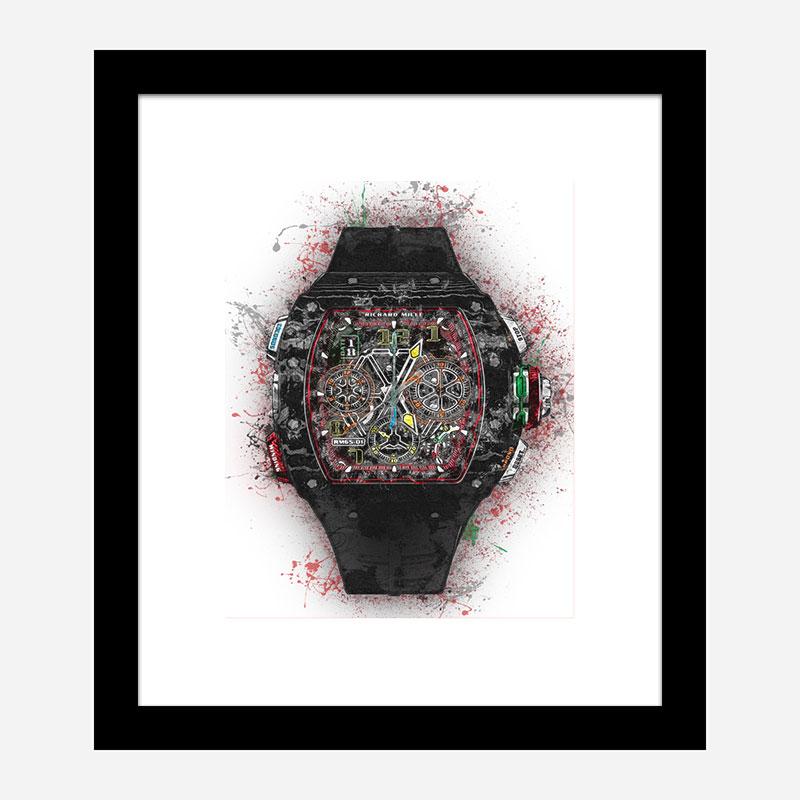 RM 65 Watch Abstract Art Print