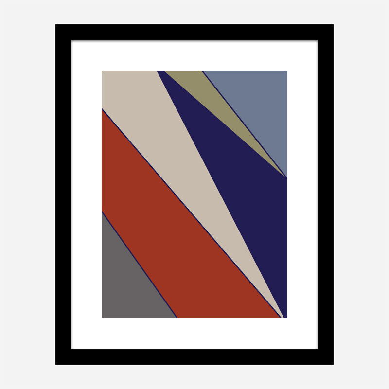Color Blocks 05 Wall Art Print