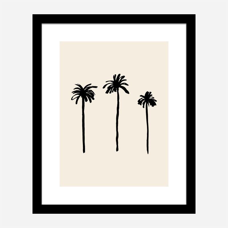 Palm Trees Wall Art Print
