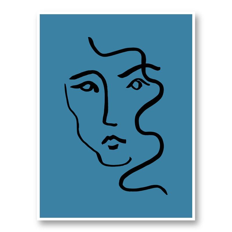 Portrait 02 Wall Art Print