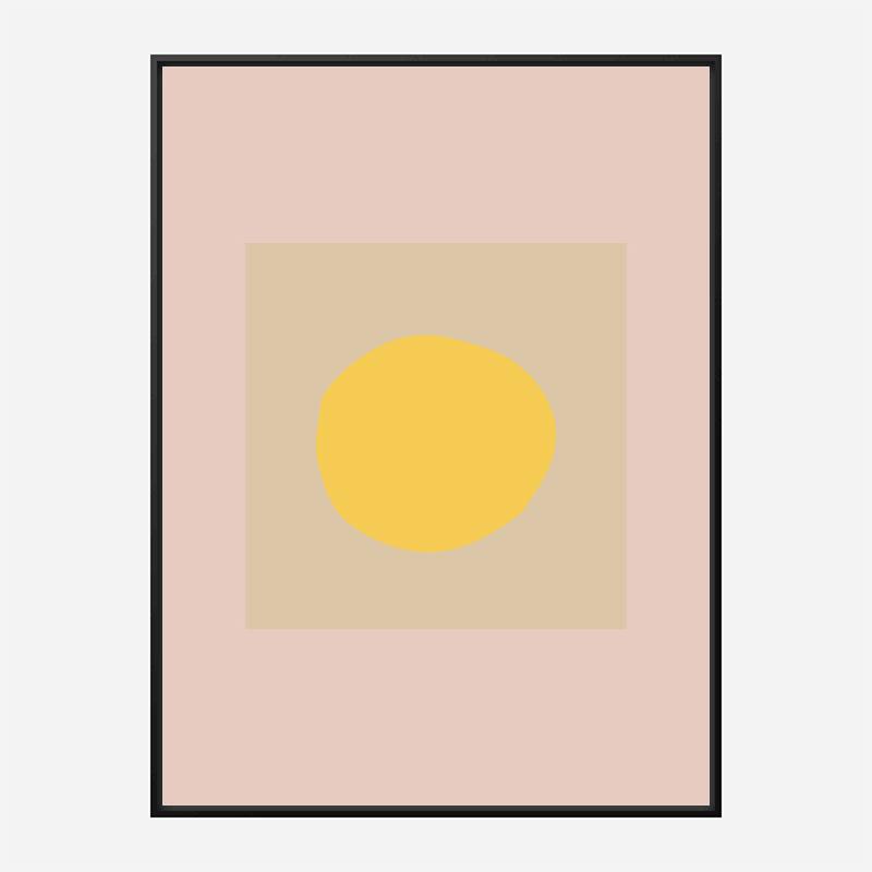 The Sun Wall Art Print