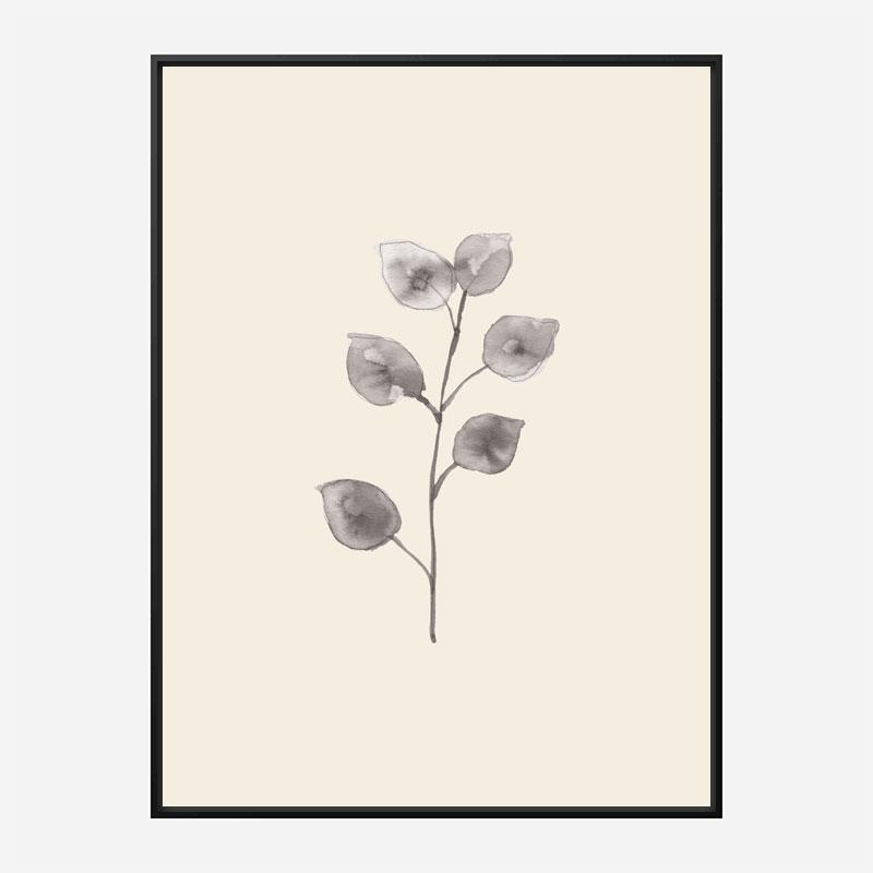 Eucalyptus Twig Wall Art Print
