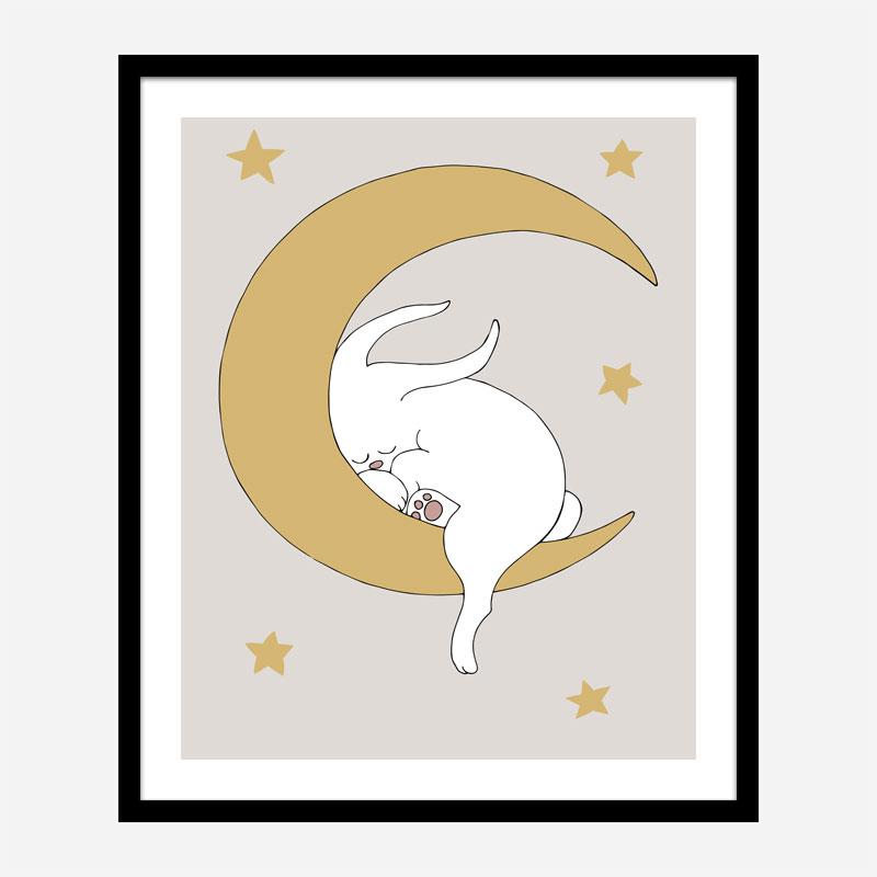 The Rabbit Wall Art Print