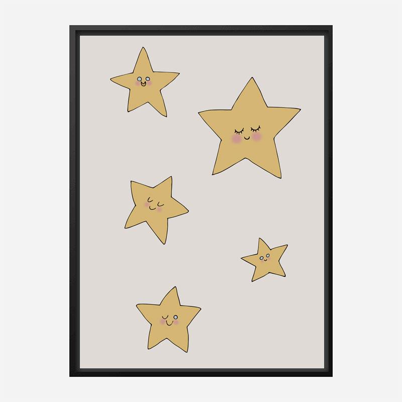 Stars Wall Art Print