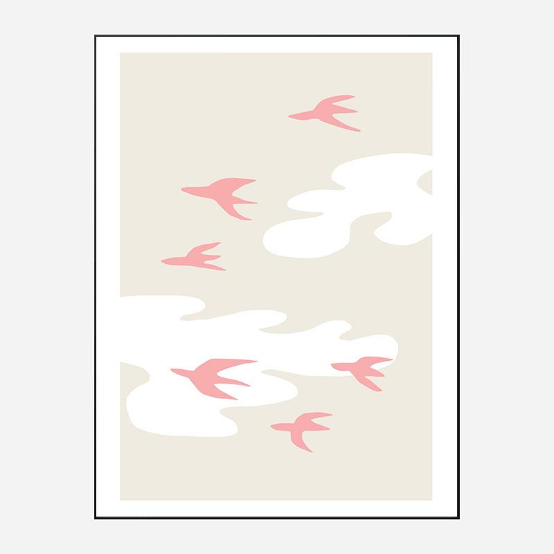 Birds Wall Art Print