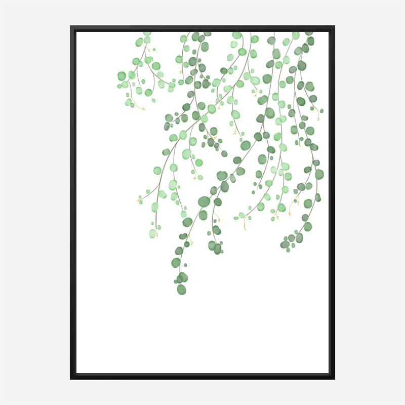 Birch Tree Wall Art Print