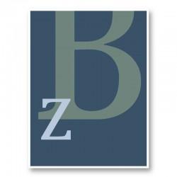 Letter B Wall Art Print