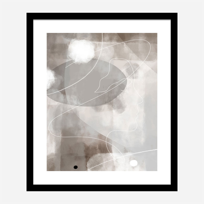 Profile Wall Art Print