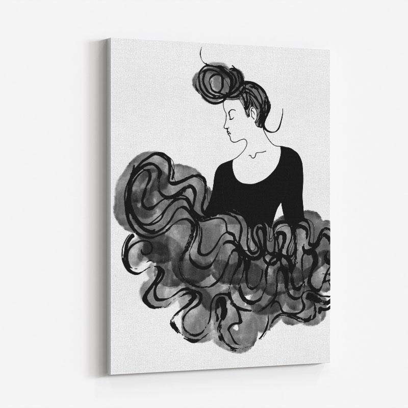 Ballerina Wall Art Print