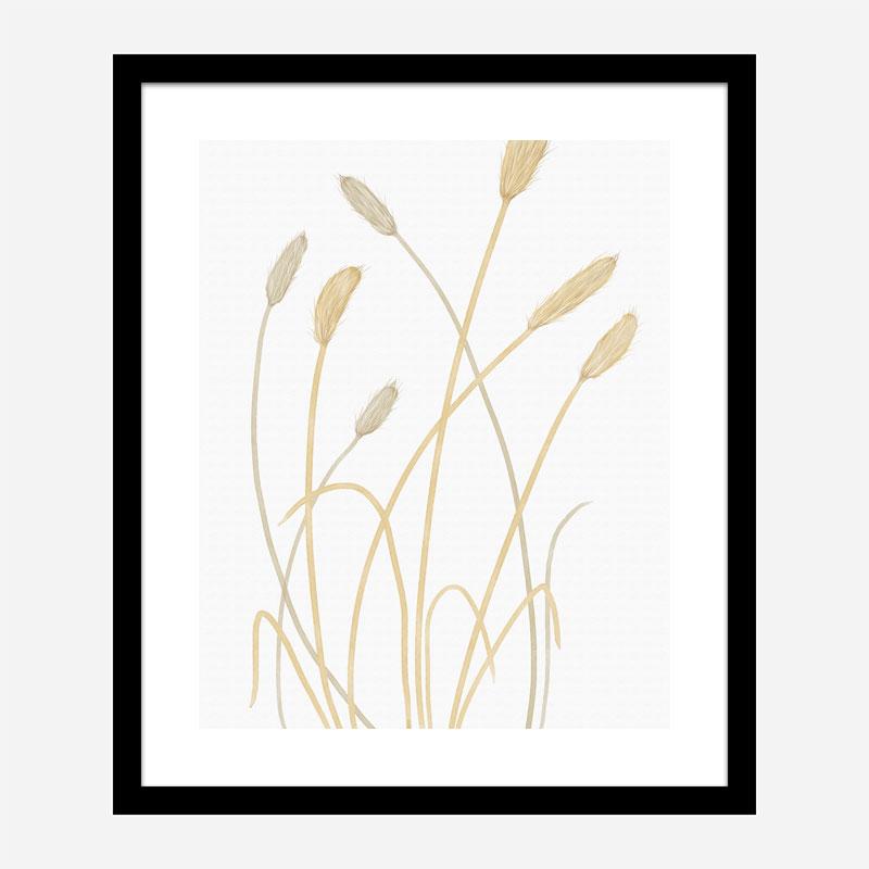 Bunny Grass 1 Wall Art Print
