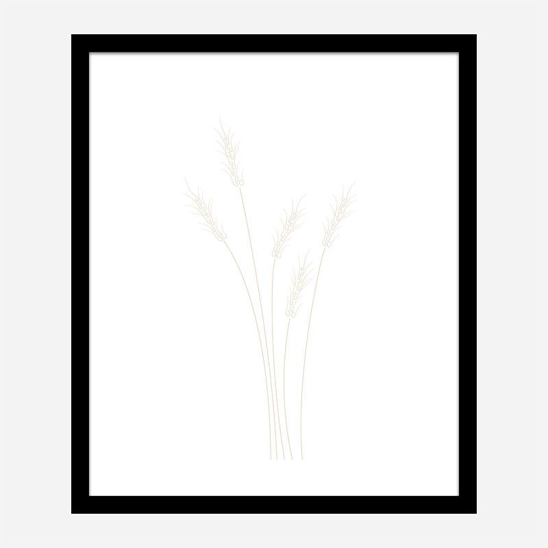 Wheat Grass Wall Art Print