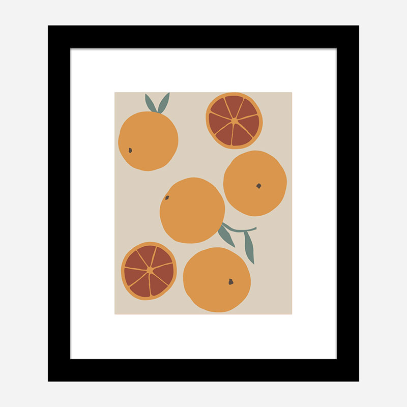Blood Orange Wall Art Print