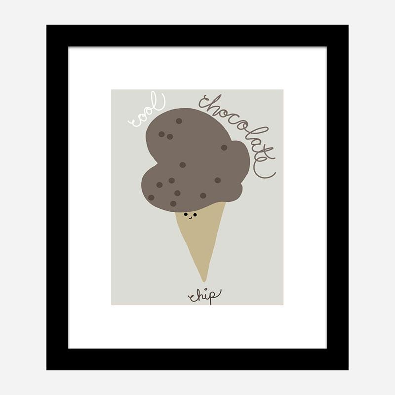 Chocolate Chip Wall Art Print