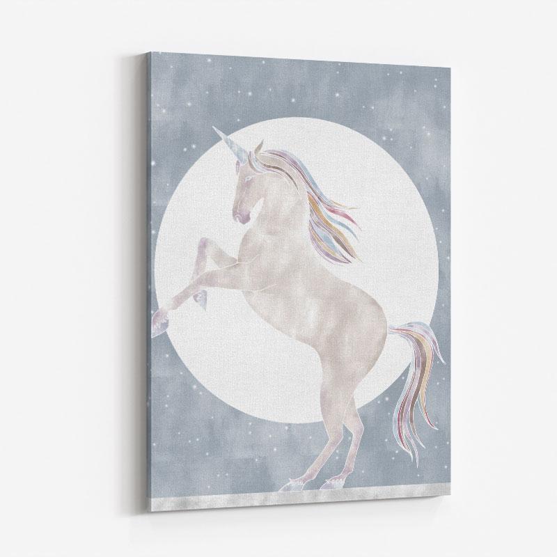 Rising Unicorn Wall Art Print