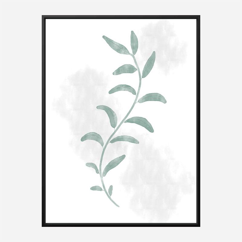 Jazzy Leaves Wall Art Print