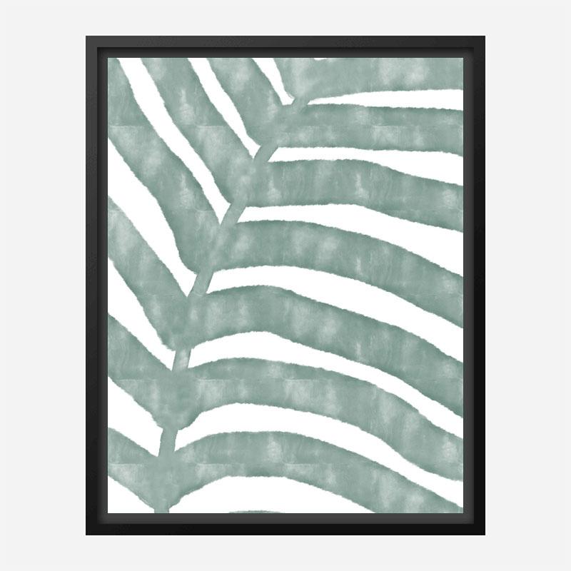 Palm Stripes Wall Art Print