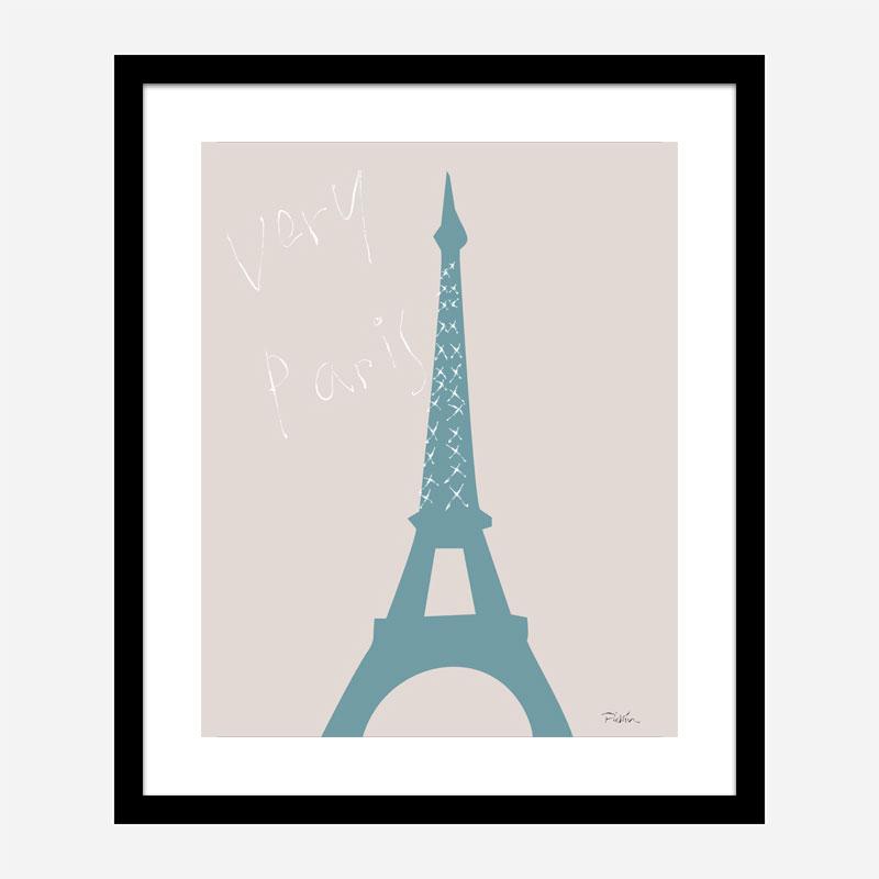 Very Paris Wall Art Print