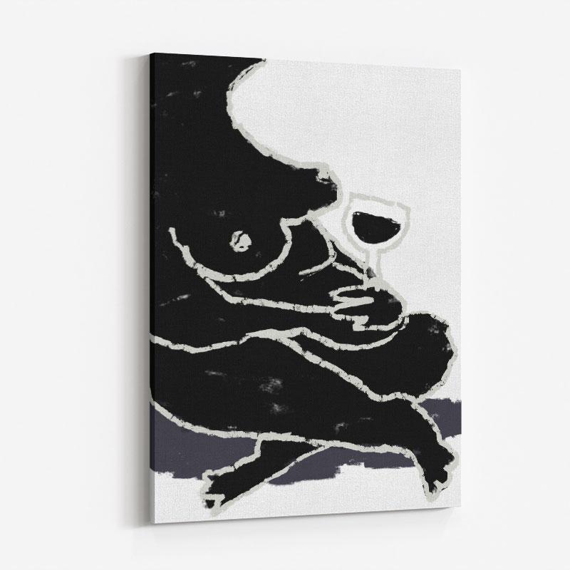 A Break Wall Art Print