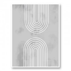 Archs in Ice Wall Art Print