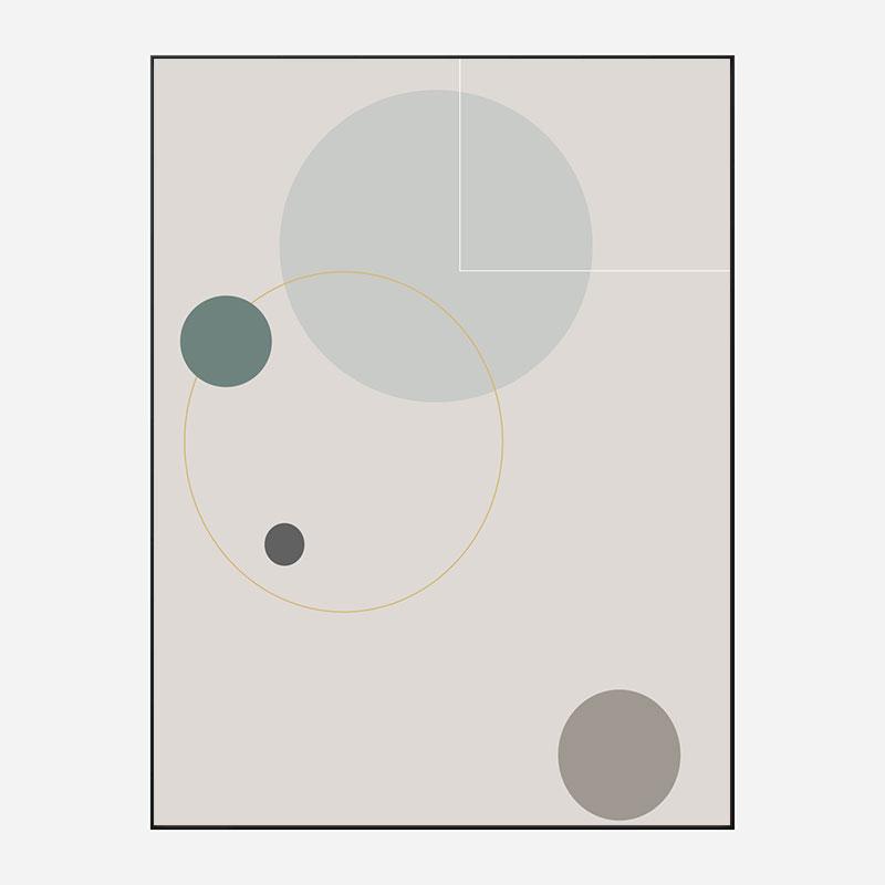 Space Orbit 03 Wall Art Print