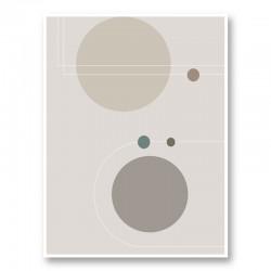 Space Orbit 02 Wall Art Print
