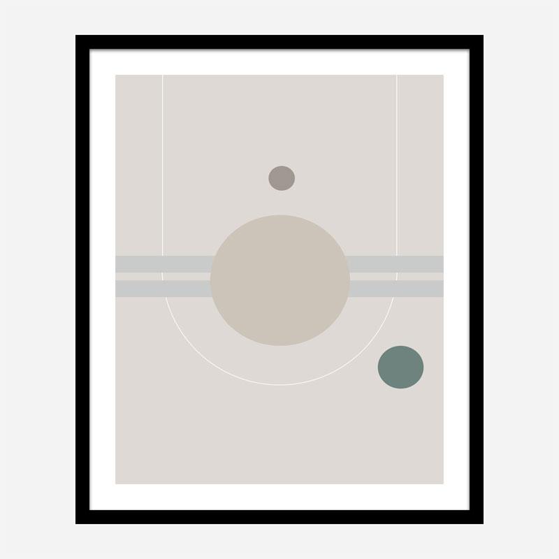 Space Orbit 01 Wall Art Print
