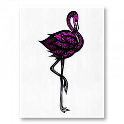Bingo The Flamingo Art Print