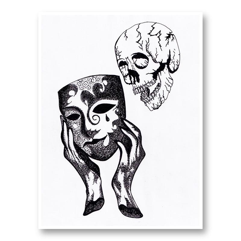 3 2 1 Action Art Print