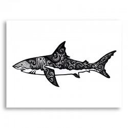 It's a Shark Art Print