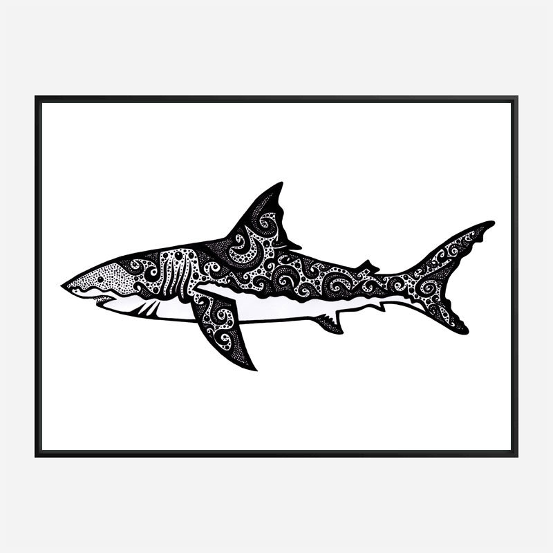 It's a Shark Art Print