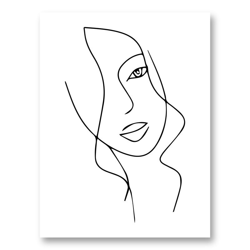 Beauty Line Art Print