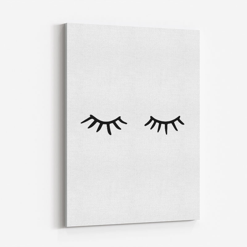 Eye Lashes Art Print