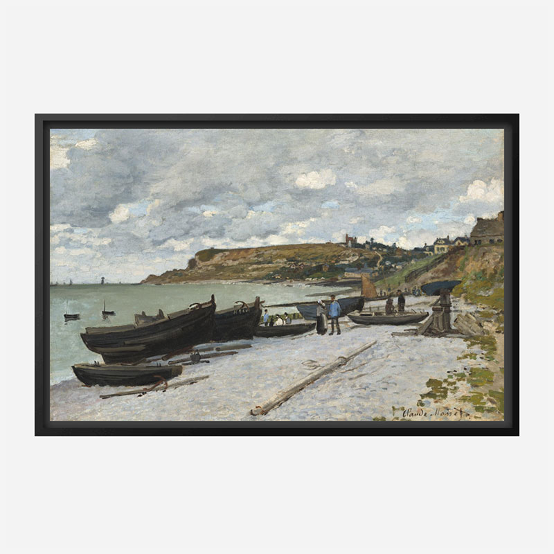 Sainte Adresse by Claude Monet Art Print