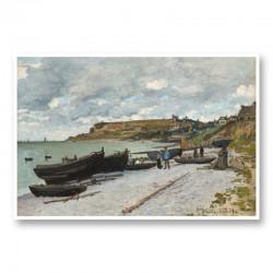 Sainte Adresse by Claude Monet Art Print