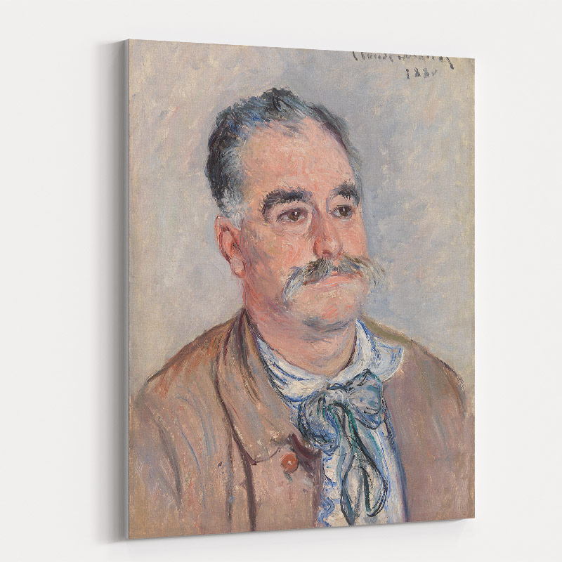 Portrait of Monsieur Coquette by Claude Monet Art Print