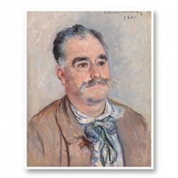 Portrait of Monsieur Coquette by Claude Monet Art Print