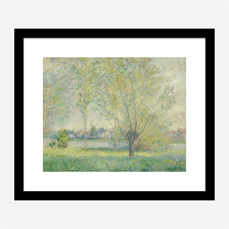 The Willows by Claude Monet Art Print