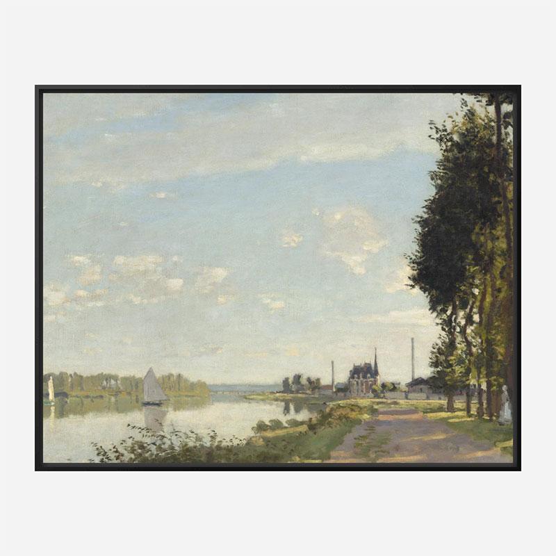 Argenteuil by Claude Monet Art Print