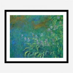 Irises by Claude Monet Art Print